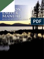 Oregon Drivers Manual