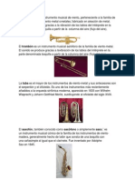 5 Instrumentos Musicales