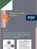 1. Estructura de La Materia