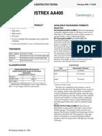 MSDS Pelicula AA 400 Film-data