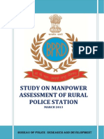 6826643016-Study on Manpower Assessment of a Rural Police Station March 2013