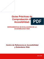 Herramientas de Evaluacion de La Accesibilidad