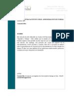 La Subcontratación en Chile. Una Aproximación Sectorial - Silva