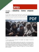 Israel, Palestina. Cómo Empezó Todo (Zona Crítica - El Diario.es)
