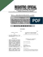 Ro Ley Reformatoria a La Ley de Transito