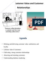 creating customer value and customer relationship