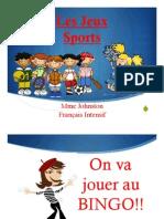 les sports unit