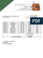 Invoice 0251