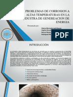 Problemas de Corrosion a Altas Temperaturas en La