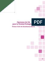 Opciones de Objetivos de Aprendizaje (OA) Para La Unidad Pedagogica