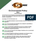 Enviromental Policy
