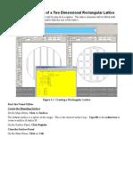 Ejercicio Lattice Rectangular 2D