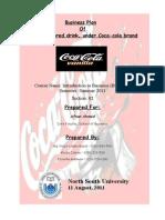 Final Report of Coca-cola Vanilla by Araf & Novo