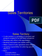 Sales Territories
