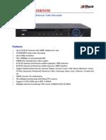 DH-NVR5208 5216 5232