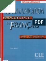 Communication Progressive Du Francais Debutant