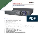 DH-NVR5808-P 5816-P 5832-P