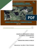 Eou Diagnostico Volumen i Ordenamiento Urbano Machupicchu