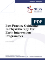 Best Practice Guidelines Physiotherapy EIPIC 2