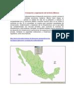 Actividad 3. Infraestructura Para El Transporte y Organizacion Del Territorio