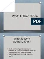 Work Authorization
