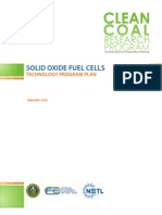 Program Plan Solid Oxide Fuel Cells 2013