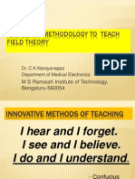 CKN_Innovative_Methods of Field Theory Teaching