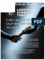 Lawton Copper Tube Technical Guide