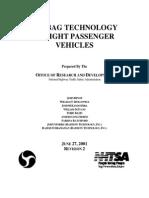 Air Bag Technology in Light Passenger Vehicles
