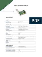 Características de La Tarjeta de Red Linksys EtherFast 10