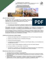 Instrucciones Disertaciones Independencia 2014