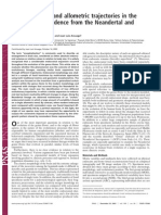 Encephalization and allometric trajectories in the genus Homos (Bruner, Manzi & Arsuaga 2003)