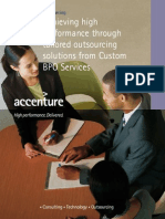209Accenture Achieving High Performance Through Tailored Outsourcing Solutions From Custom BPO Serv