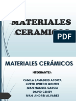 MATERIALES CERÁMICOS