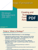 Business-level Strategy (1)