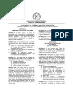 Reglamento TFG