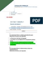 49904011 Act 5 Quiz 1 Automatas y Lenguajes Formales Corregido