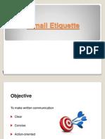 E Mail Etiquettes