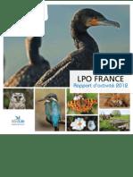 LPO - Rapport d'activité 2012