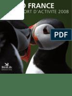 LPO - Rapport d'activité 2008