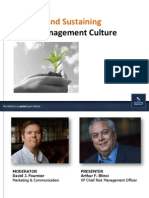 2013-0226-Creating Sustaining Risk Management Culture