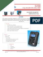 G100 datasheet