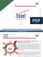 Essel Group Presentation