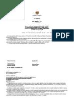 HG Pentru Aprobarea Regulamentului Privind Cerinţele de Epurare a Apelor Uzate În Localităţile Urbane Şi Rurale