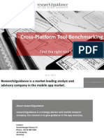 r2g Cross Platform Tool Benchmarking 2014 - Other Platforms Than Slideshare