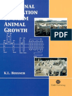 Hormonal Regulation of Farm Animal Growth