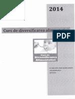 Curs de Diversificarea alimentatiei pentru be belusi