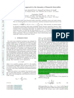 A nonextensive approach to the dynamics of financial observables.pdf
