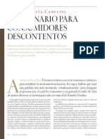 13980731 Diccionario Para Consumidores Descontentos Nestor Garcia Canclini