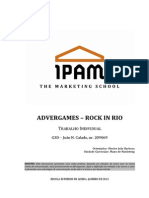 Advergames – Rock in Rio